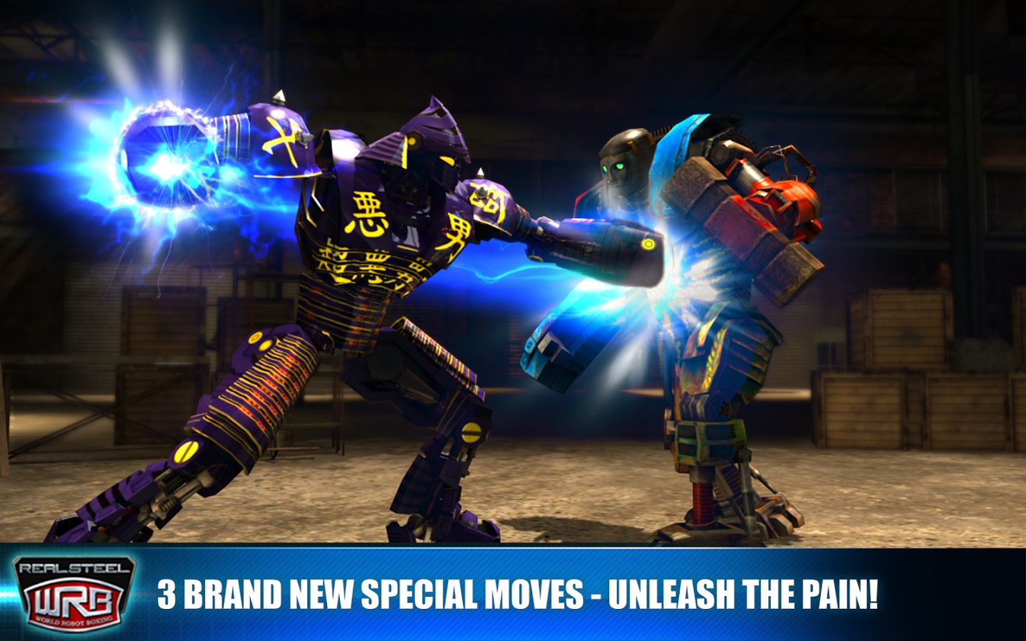 Real steel world robot boxing hack android ios