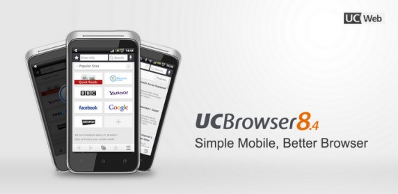 UC Browser for Huawei Ascend G700