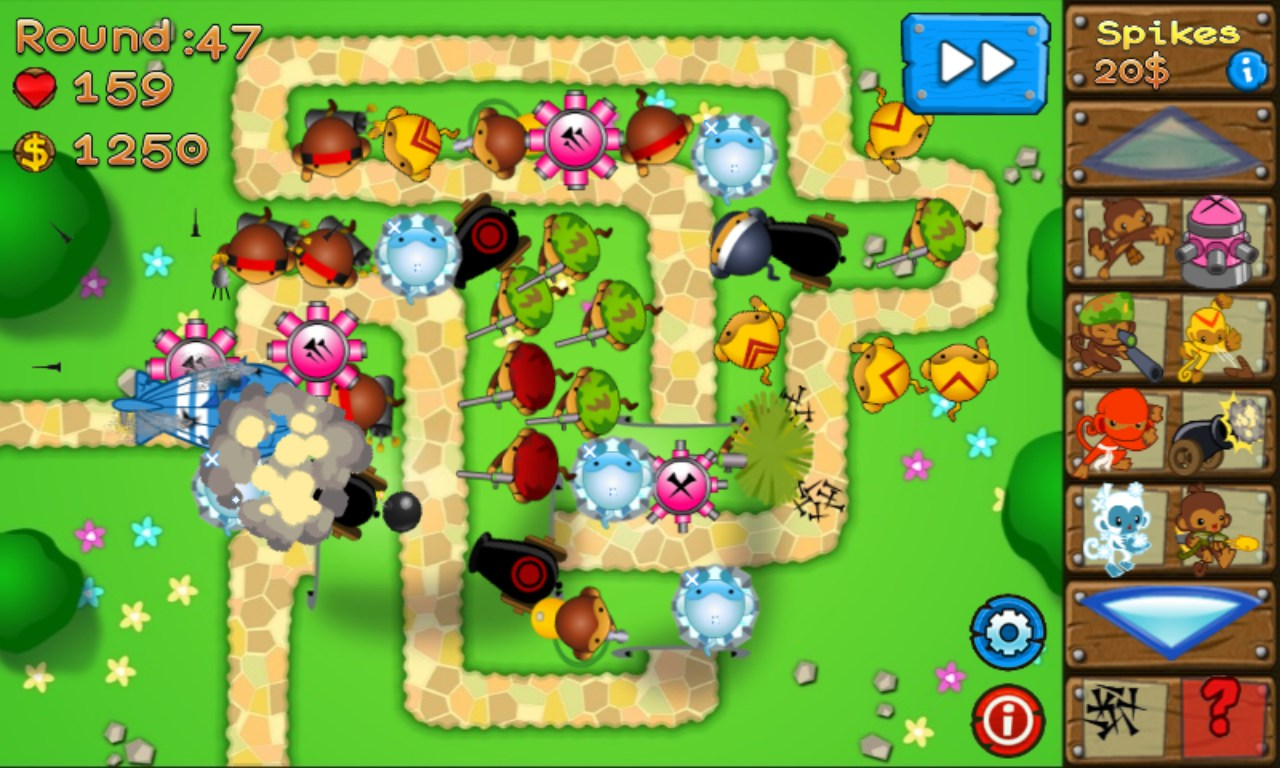 Bloons Tower Defense for HTC 7 Trophy – Free download games for ...