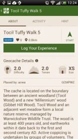Geocaching Intro for Fly IQ245 Wizard Plus
