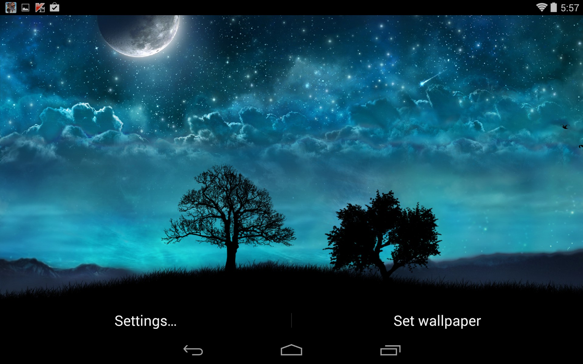 samsung galaxy s5 wallpaper settings