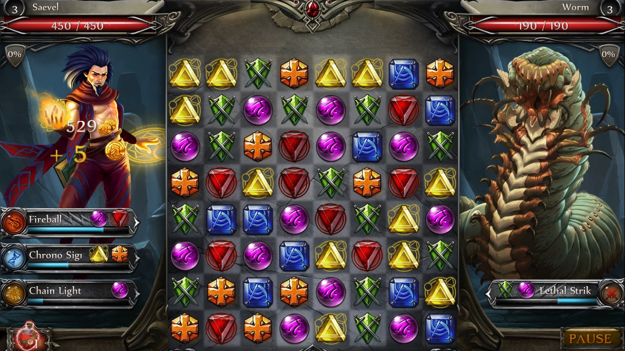 Jewel Fight: Heroes of Legend – Games for Android 2018 ...