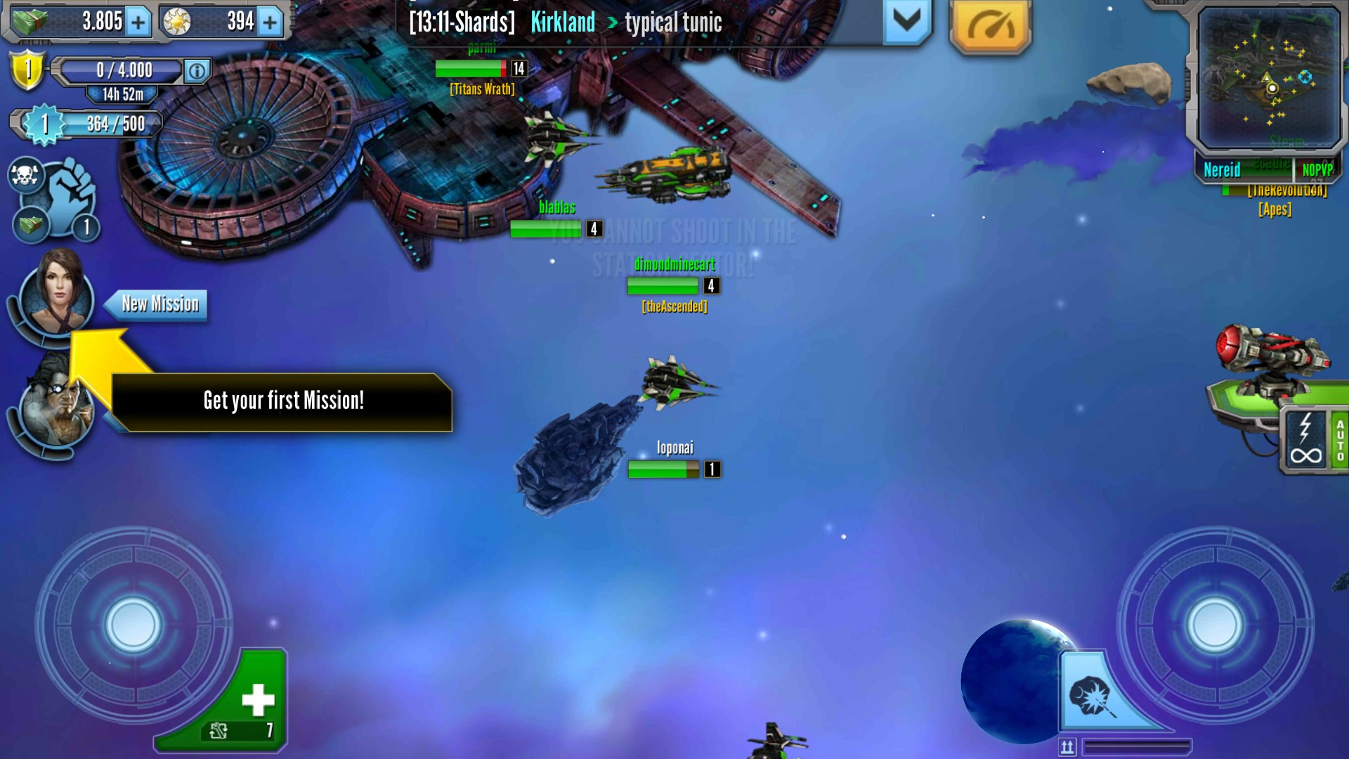 pocket starships mmo