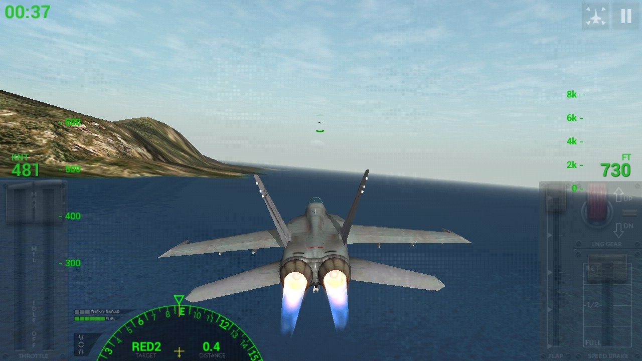 Free Download - F18 Carrier Landing Lite (Android, iOs) for PC