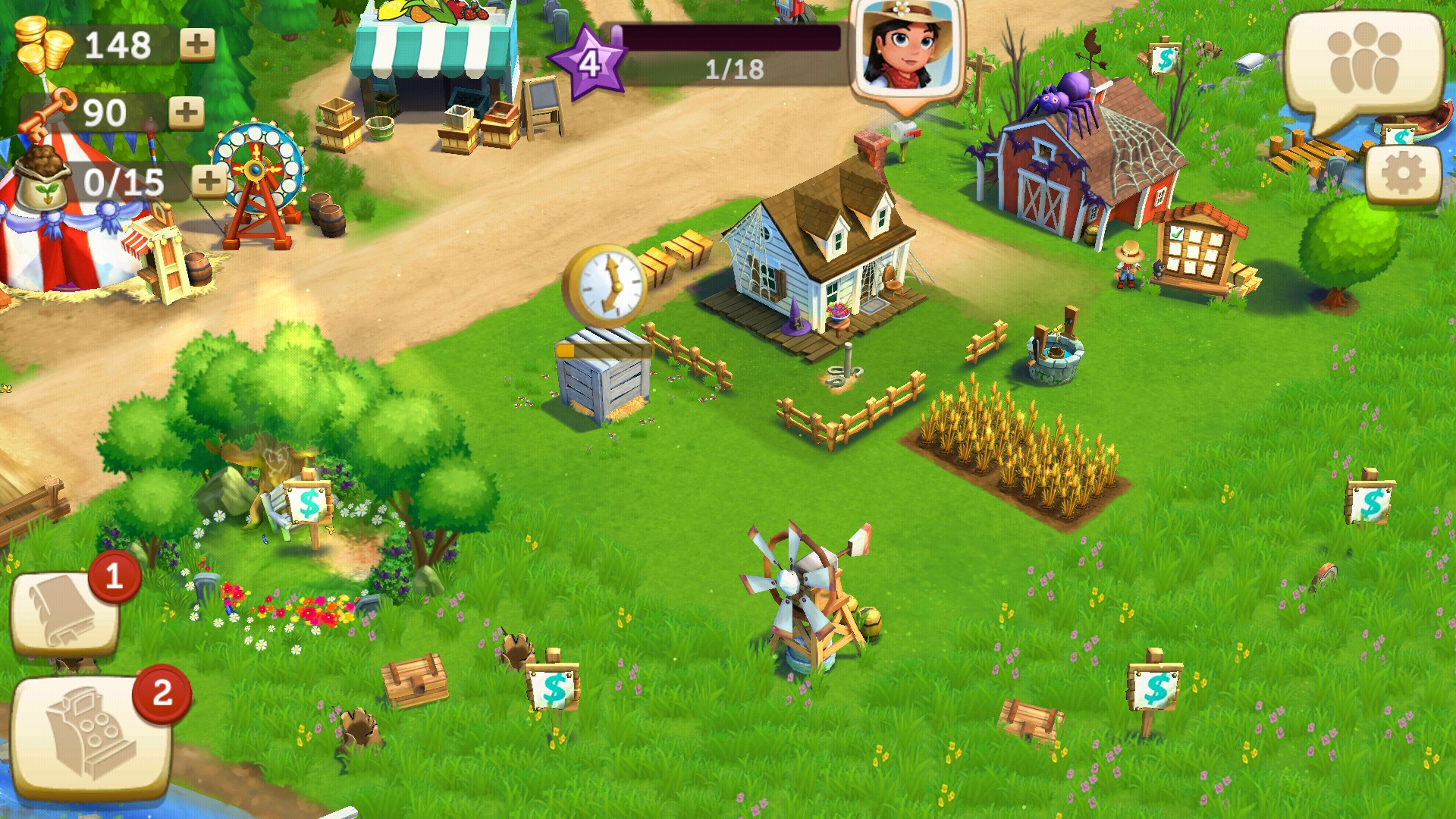 games like farmville 2 for android