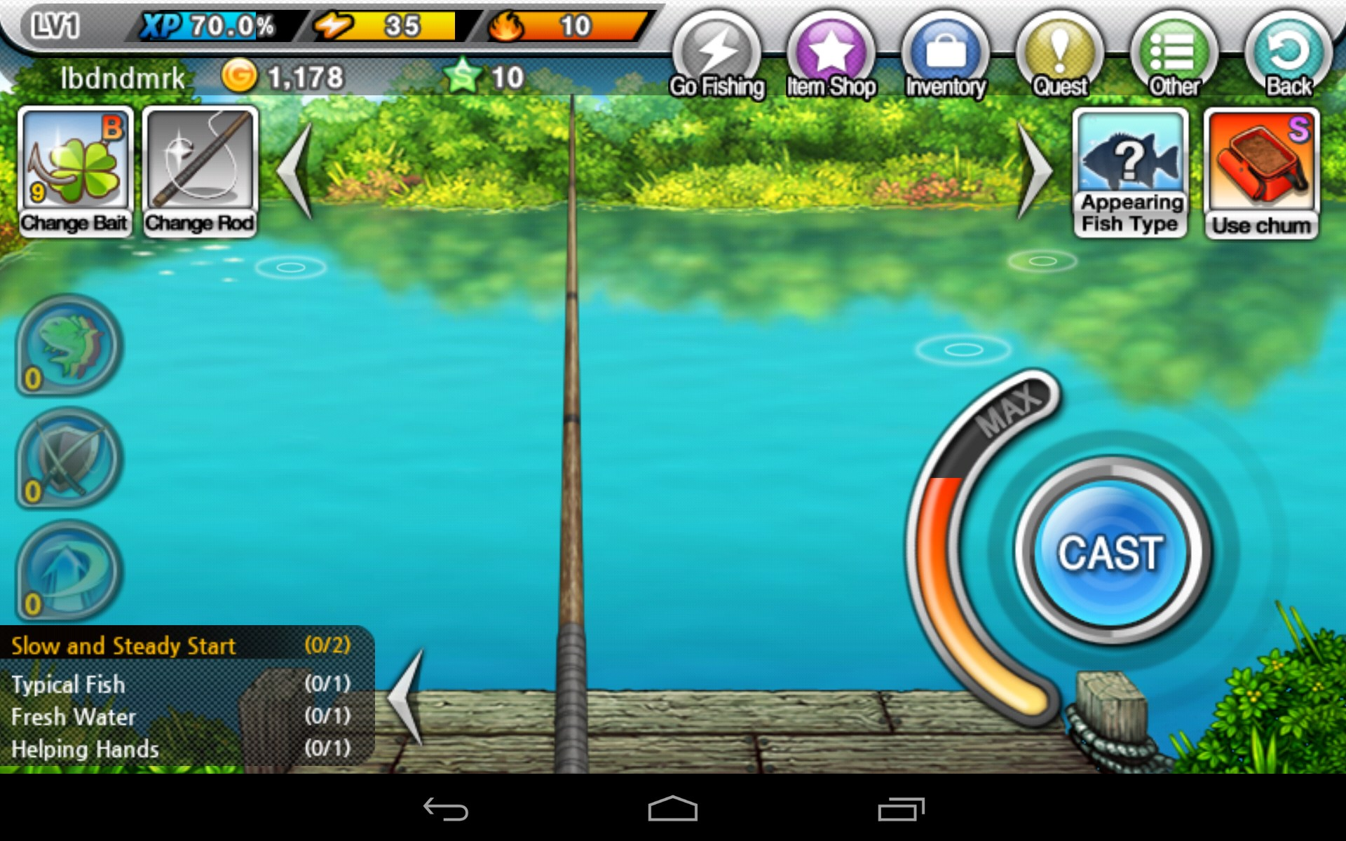 Fishing superstars games for android 2018 free for Free online fishing games