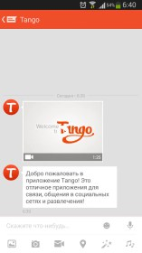 Tango Messenger, Video & Calls