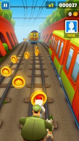 Subway Surfers for Samsung Galaxy Mega 5.8