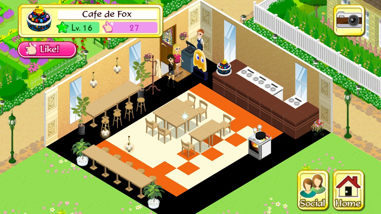deluxe cafe games