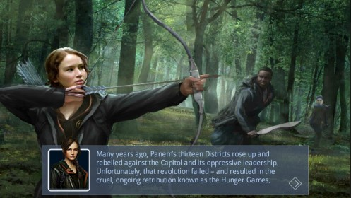 The Hunger Games: Panem Rising إلى Archos 101 XS