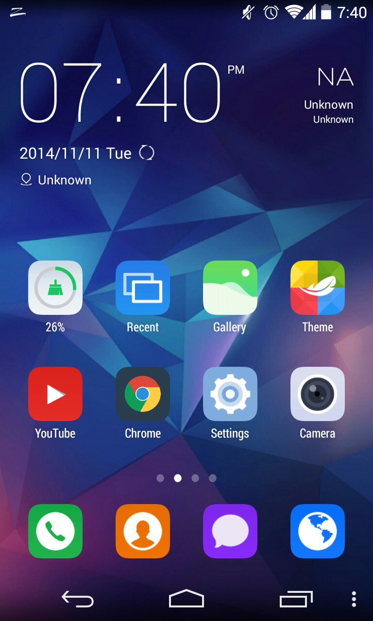 Top 5 free newest launcher apps for android in 2015.