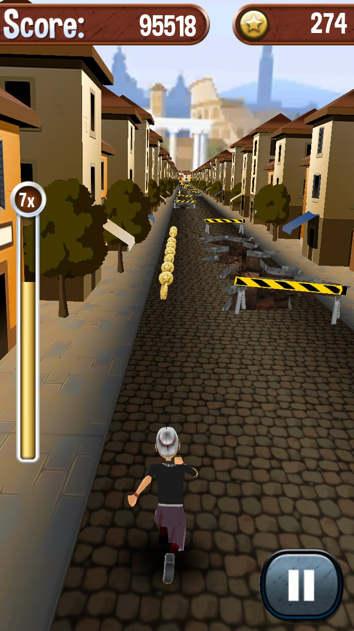Angry gran run running game apk download from moboplay.