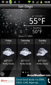 AccuWeather for HTC One S