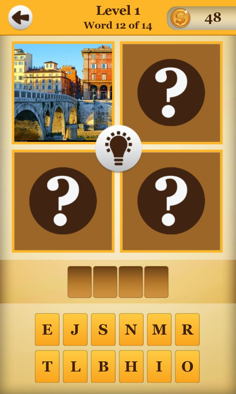 4 Pics 1 Word Game Online Game No Download