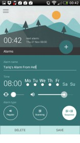 Morning Routine Alarm Clock for Huawei Hold X
