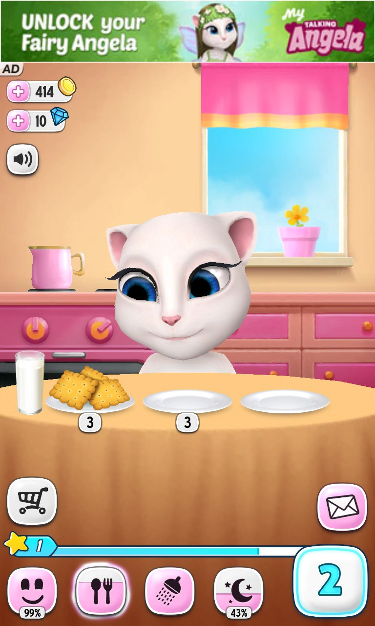 Talking angela – soft for android 2018 – free download. Talking.