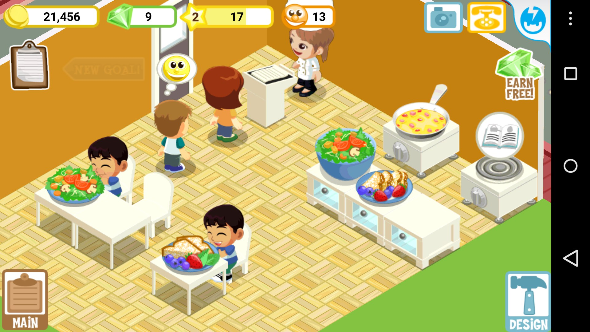 Restaurant story christmas games for android