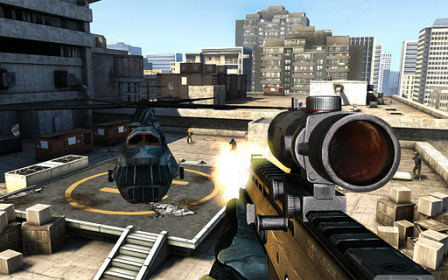 Modern Combat 3: Fallen Nation for Samsung Galaxy Mega 5.8