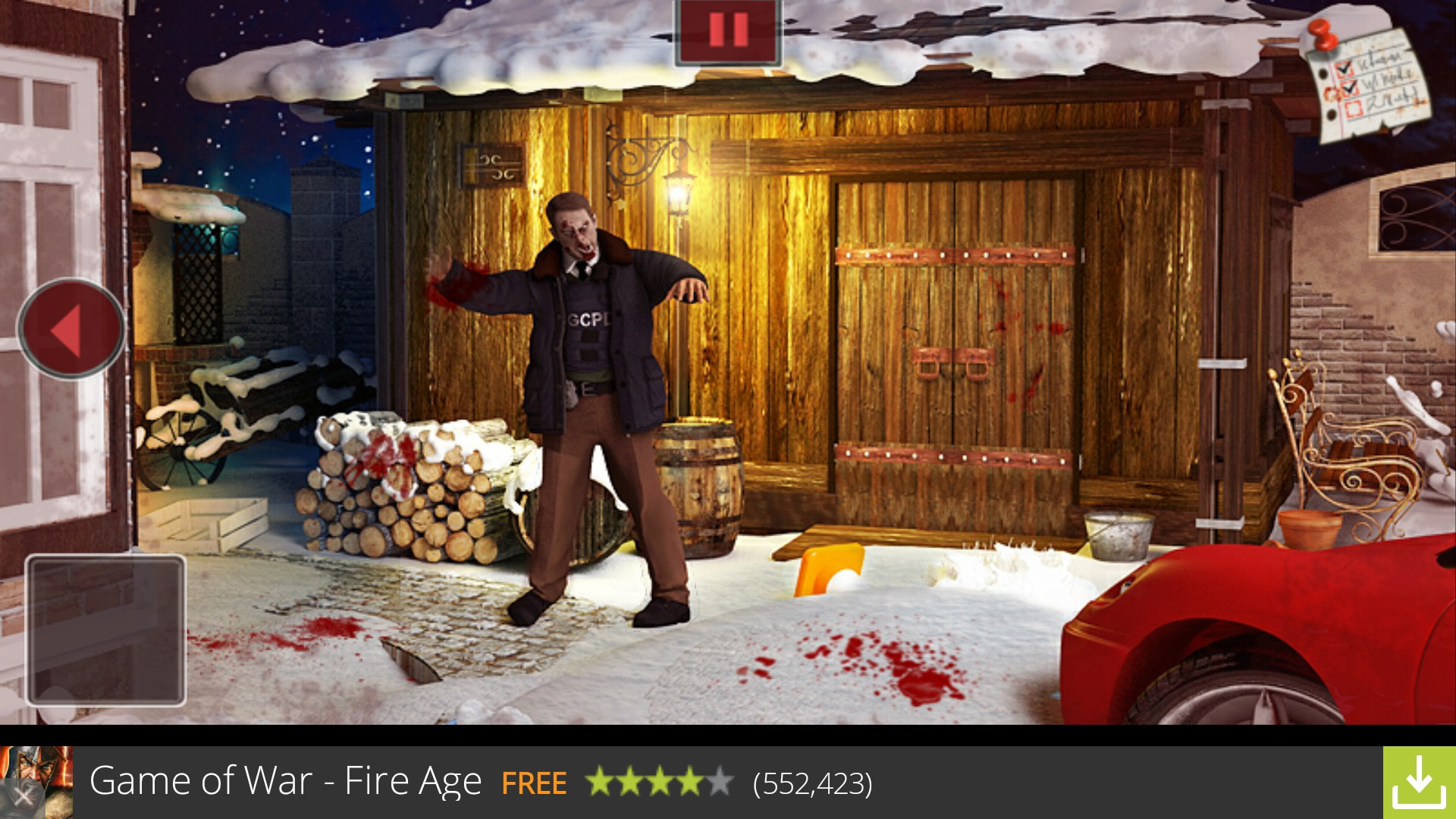 Zombie Santa Game Zombies 2 Santa vs