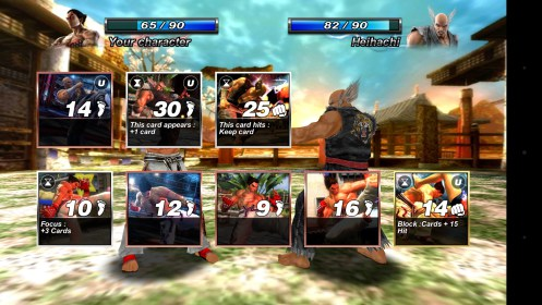 Tekken Card Tournament (CCG) for Sony Xperia C
