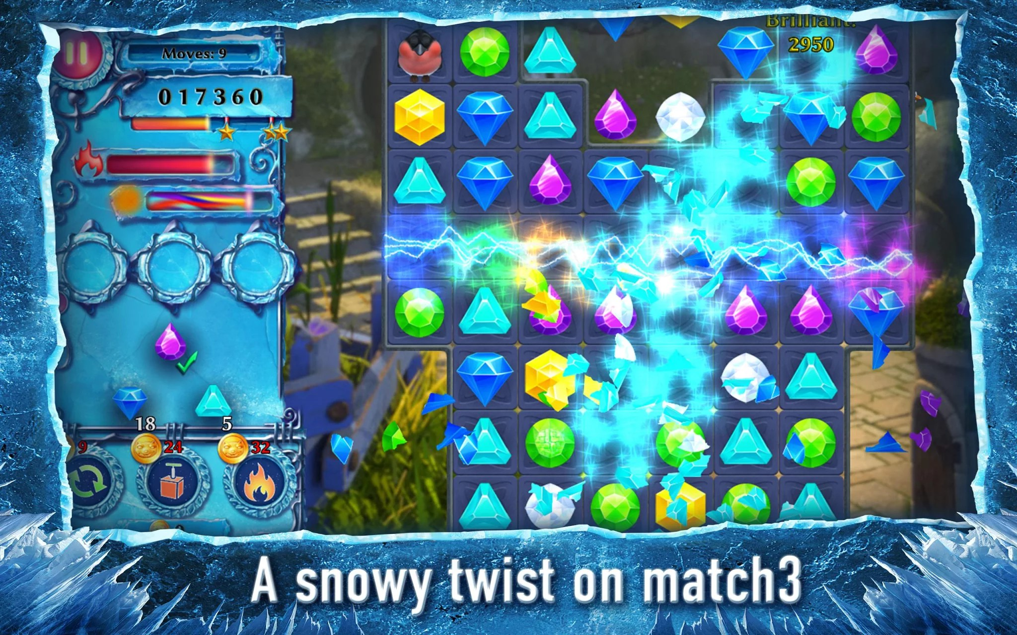 free games no download required snow queen 4 match