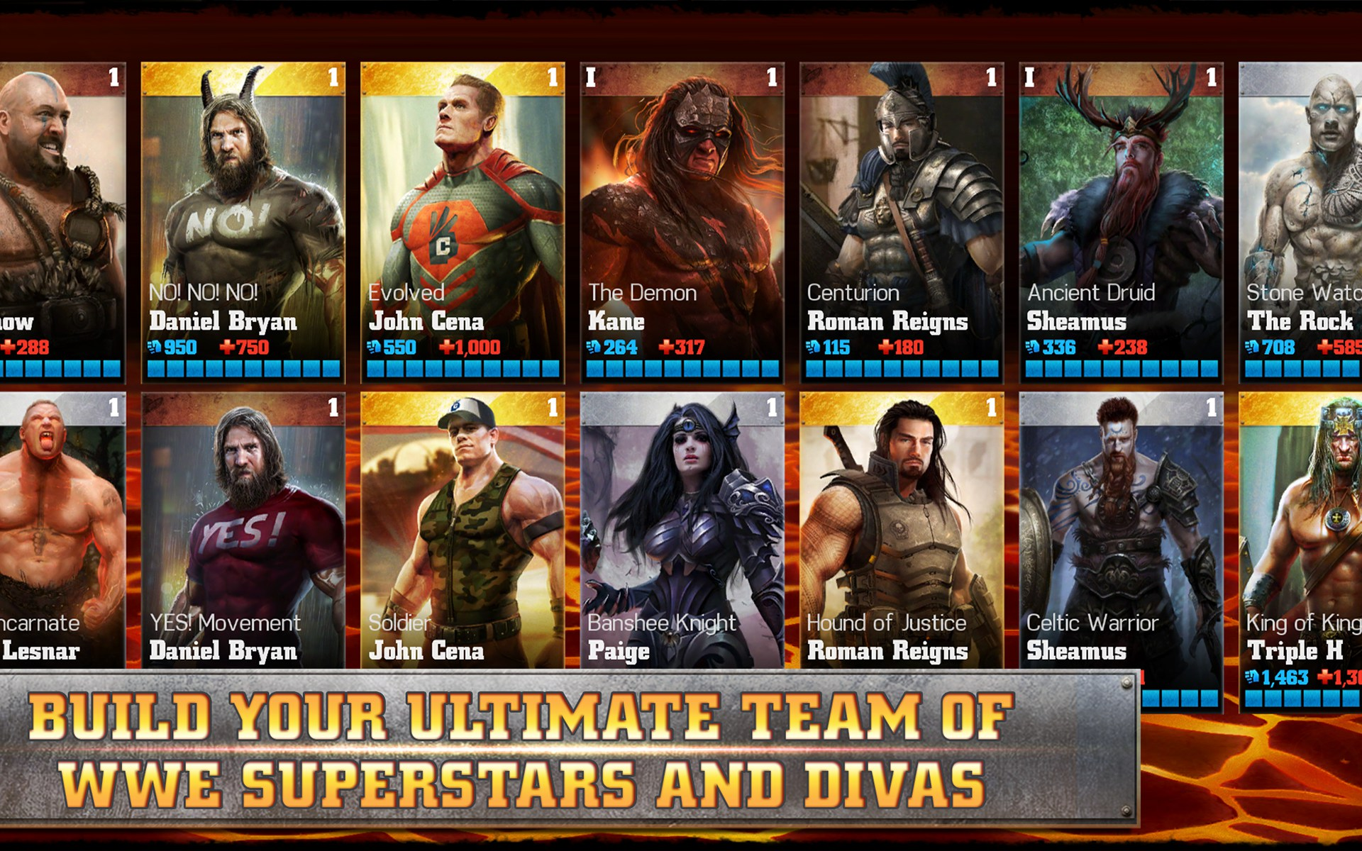 WWE Immortals Games For Android Free Download