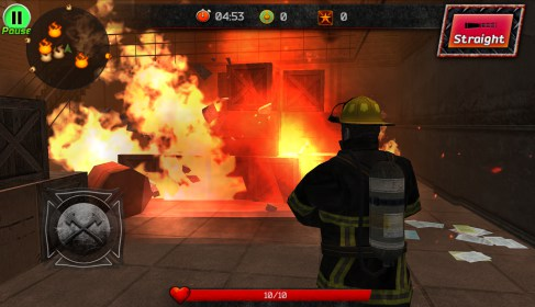 Courage of Fire for Samsung Galaxy Tab 3 10.1