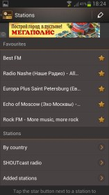 Internet Radio for BLU Dash 5.0