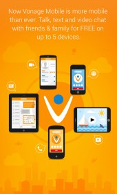 Vonage Mobile® Call Video Text
