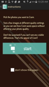 Cram - Reduce Pictures for Archos 97b Titanium