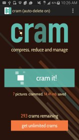 Cram - Reduce Pictures for HTC Rezound