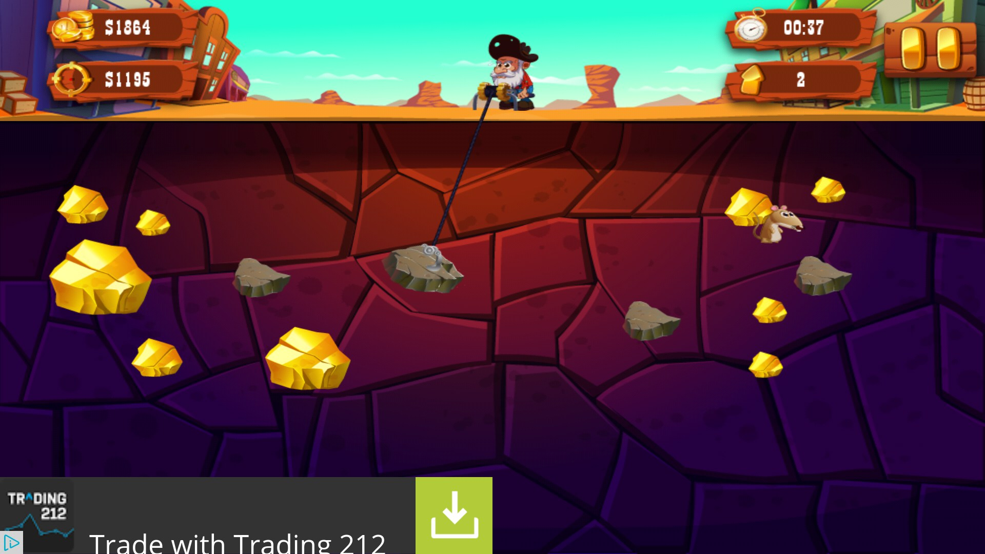 Gold Miner Adventure Games For Android 2018 Free