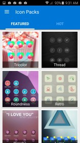 Cobo Launcher Easily DIY Theme for HP Slate 10 HD