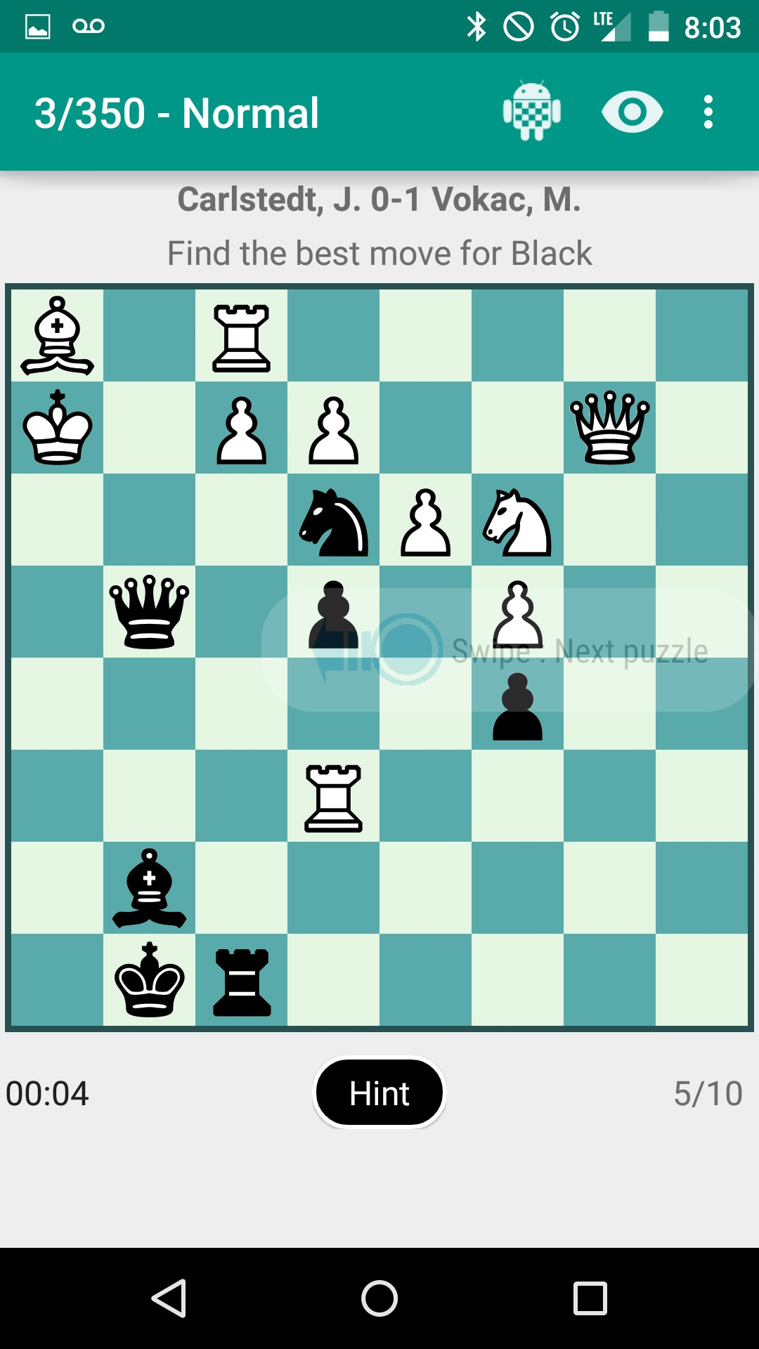 2148 chess tactics problems (hardcopy).