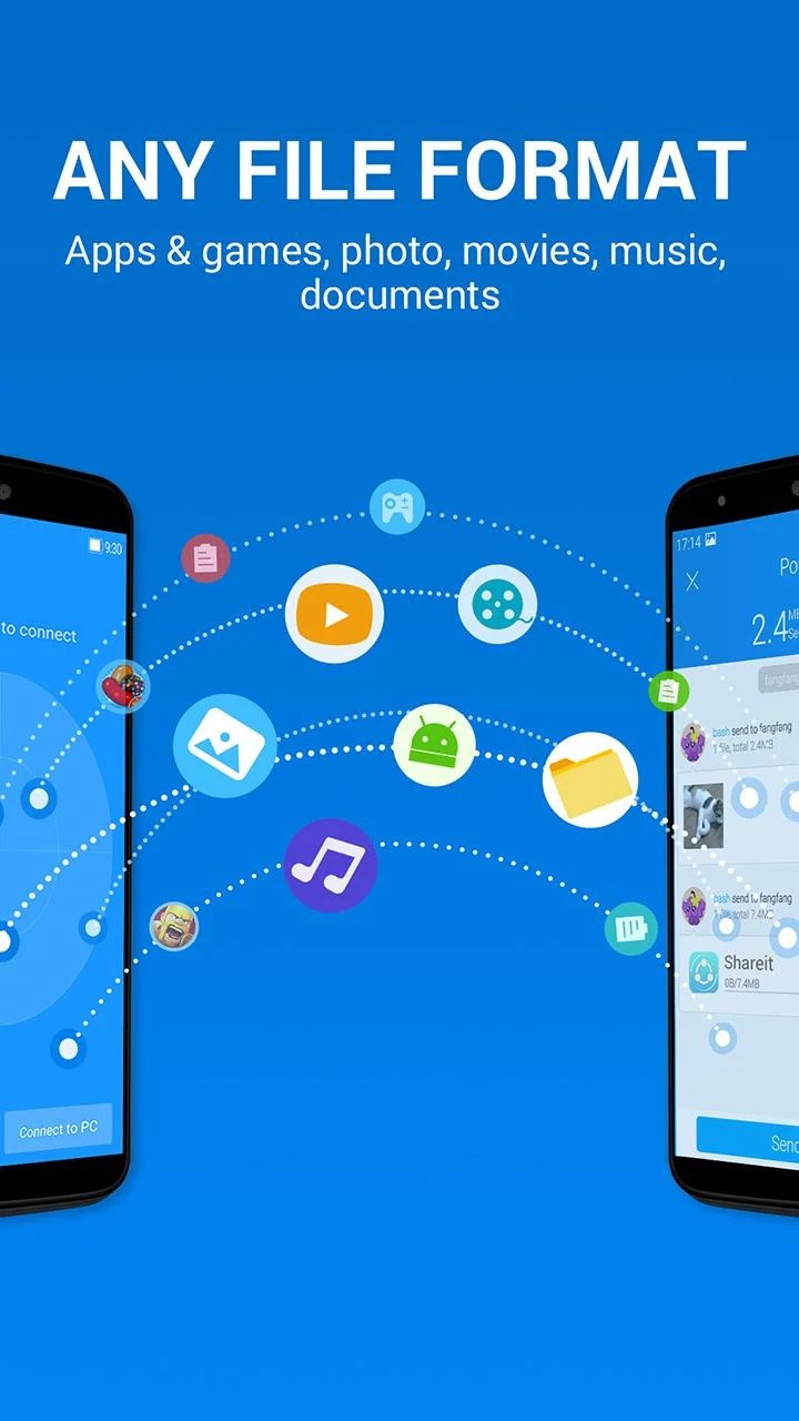shareit samsung ace