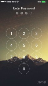 HI LockScreen (iOS 8,Parallax)