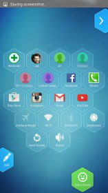 Honeycomb Launcher for Alcatel One Touch T Pop