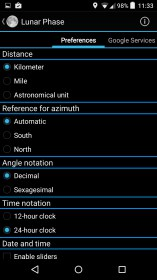 Lunar Phase for Acer beTouch E120