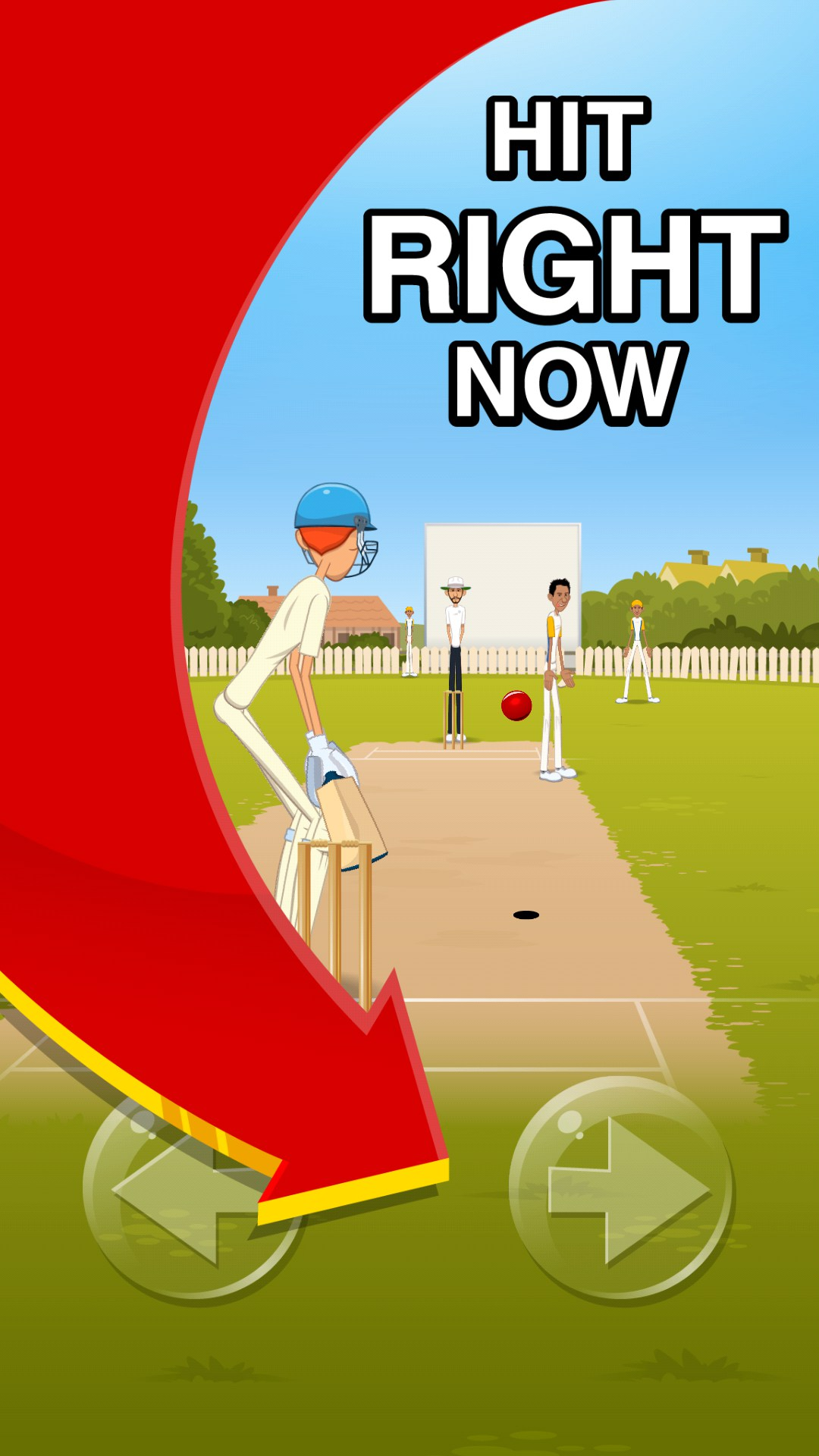 how to play stick cricket 2