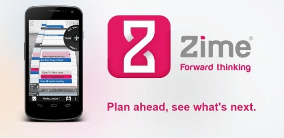 Zime To-do + Calendar for LG Optimus Zone