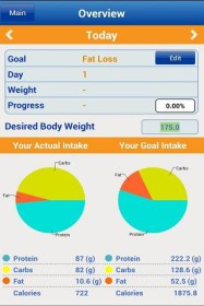 Nutritionist+ for Prestigio MultiPhone 5044 DUO