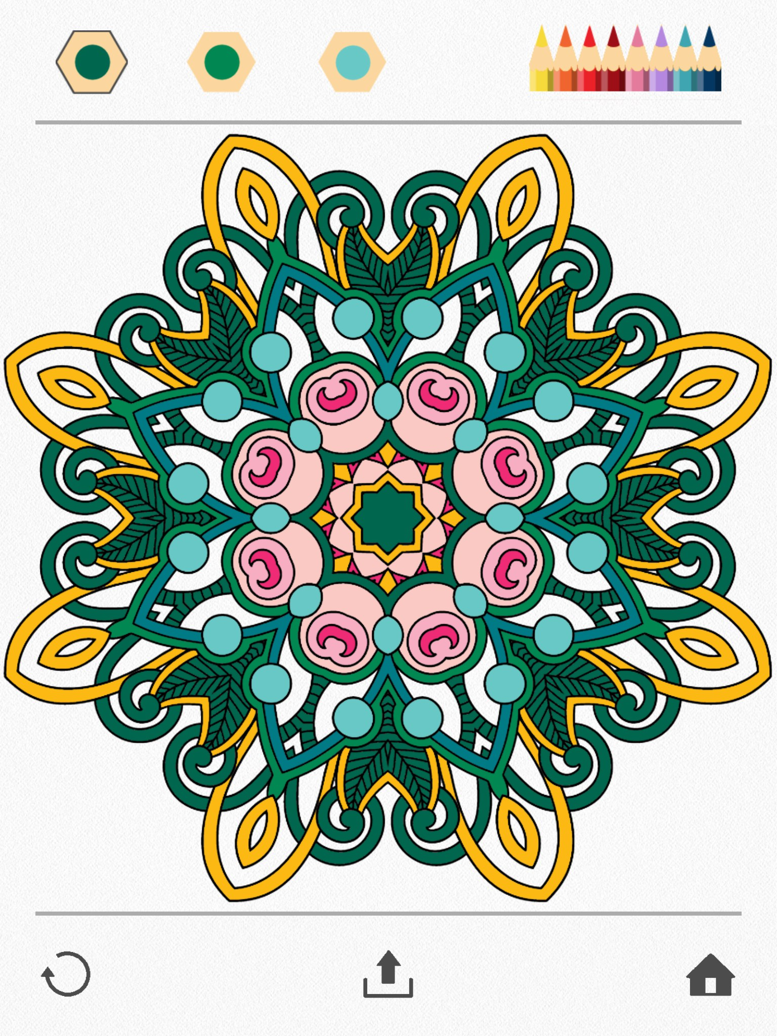 Colorfy Coloring Book For Adults IOS