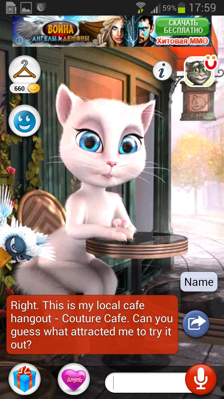 Talking angela for android download apk free.