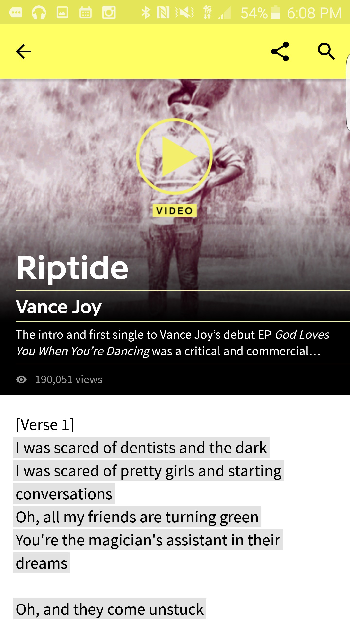 Genius — Song Lyrics & More – Soft for Android 2018 – Free ...