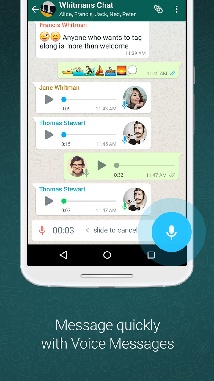whatsapp messenger � programmes pour android 2018